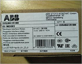 ABB继电器 CR-M024DC3