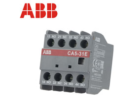 ABB交流接触器 辅助触头 触点CA5-31