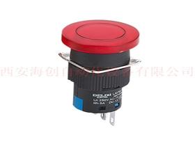 渭南LAY5s-16 1NO+1NC 带灯蘑菇钮 6V 绿    带灯蘑菇头按钮